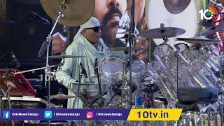 Sivamani Awesome Performance At Vakeel Saab Pre Release Event   Pawan Kalyan   10TV News