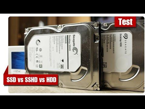 SSD vs SSHD vs HDD - TEST