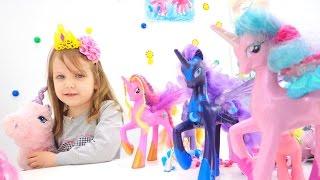 Игры для девочек с Май Литл Пони. Мультики с игрушками