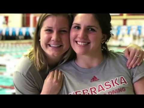 Senior Year Big Ten Championship University of Nebraska Swimming and Diving