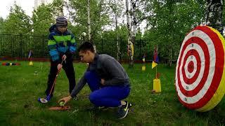 Как знакомить ребёнка с гольф ударом на мероприятии | 2025golf