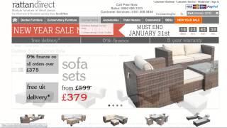 Rattan Garden Furniture Sale- Welcome To Rattan Furniture Direct!