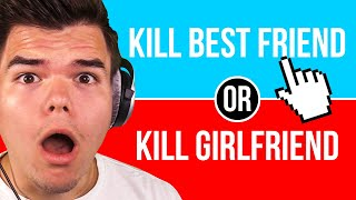 Answering The MOST DIFFICULT QUESTIONS EVER! (Would You Rather)