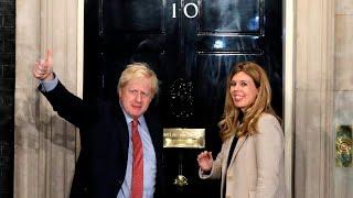 UK PM Boris Johnson and partner announce the birth of son