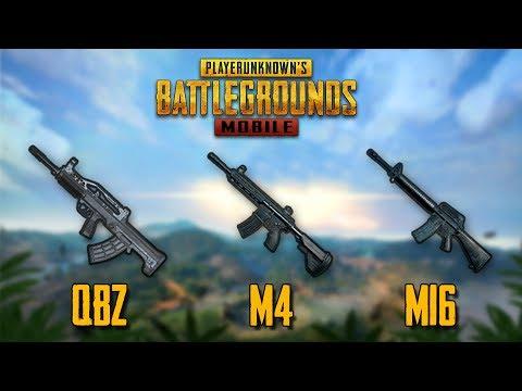 QBZ vs M416 vs M16A4 COMPARISON TEST