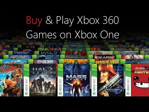 Buy 360 Games from the Xbox One Store - YouTube