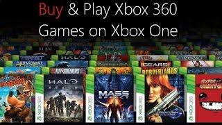 Buy 360 Games from the Xbox One Store