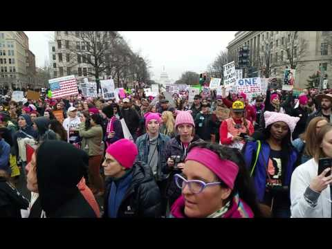 Women's March on Washington, Pennsylvania Avenue