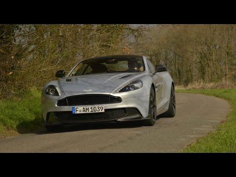 2017 Aston Martin Vanquish S [ESSAI] : symphonie en V12 majeur (acceleration & sound)