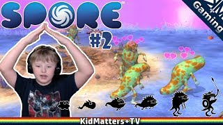 Download Video SPORE! Creature Creation Takes to LAND and makes a KILLING | Spore 2 [KM+Gaming S01E42] MP3 3GP MP4