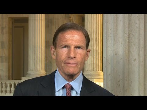 Sen. Richard Blumenthal on gun control