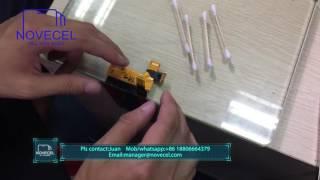 how to fix s6 edge touch problem solder s6 edge flex by flex bonding machine fb01