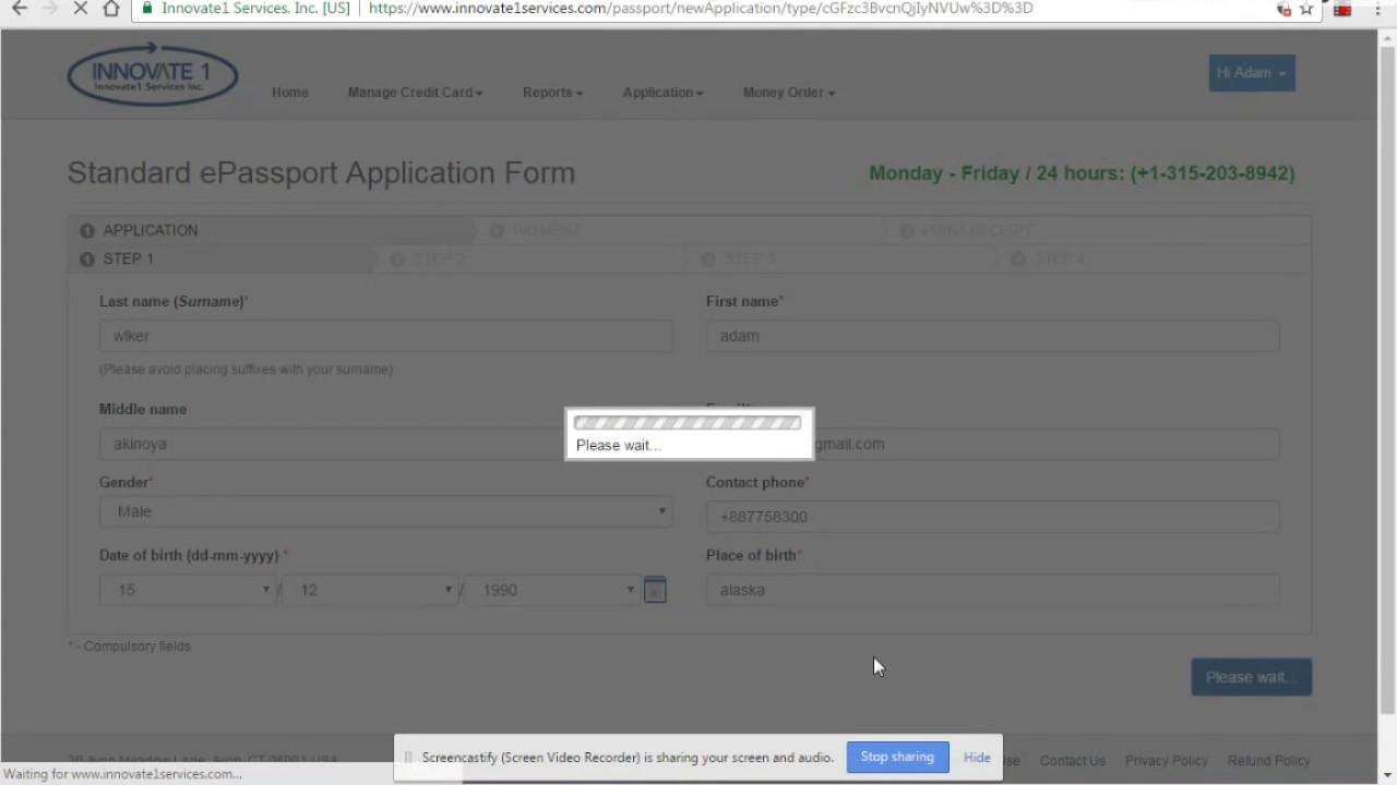 Nigerian passport application form 1 1 youtube nigerian passport application form 1 1 falaconquin