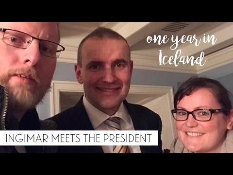 Ingimar Meets The President - Living in Iceland | Sonia Nicolson