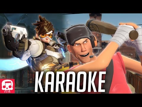 Tracer vs Scout Rap Battle KARAOKE by JT Music