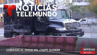EN VIVO: Comienza el juicio del Chapo Guzmán