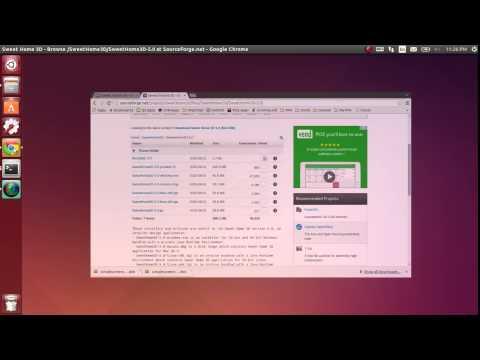 How to upgrade Sweet Home 3D in Ubuntu