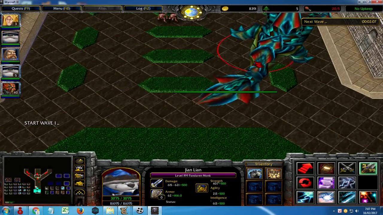 Warcraft : Darkness Reborn - New Hero (Pandaren Thunder) version 2.8