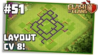 Clash of Clans #51: LAYOUT CV 8 DE FARM INSANO DOS NANDYS!