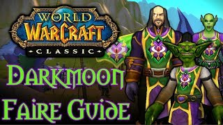 Classic WoW Darkmoon Faire Guide