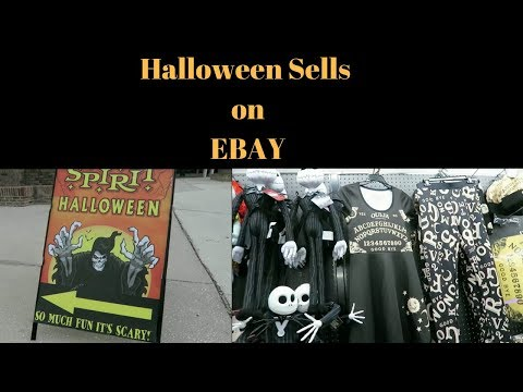 Halloween Sells on EBAY!! & Inside Toys R Us POST bankruptcy