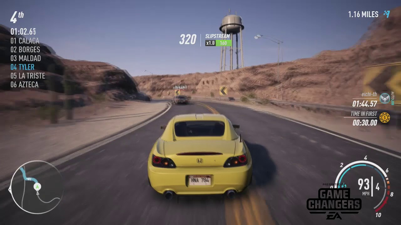 need for speed payback ps4 sprint race in the desert youtube. Black Bedroom Furniture Sets. Home Design Ideas
