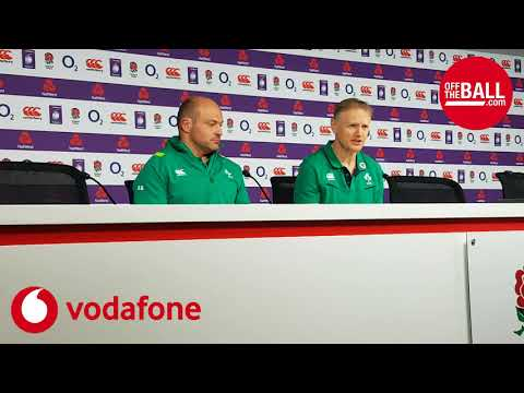 Joe Schmidt and Rory Best post-championship press conference