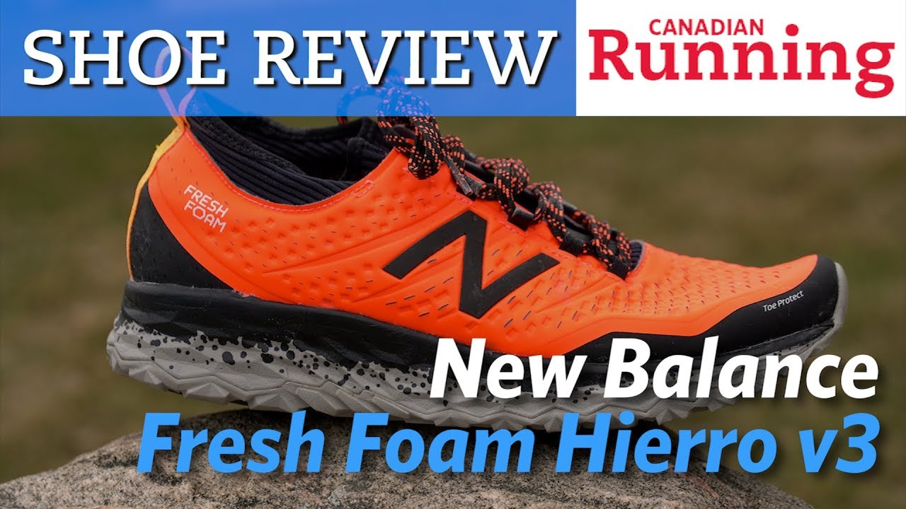 date de sortie: 0c0b2 6a945 What we think of the New Balance Fresh Foam Hierro v3 ...