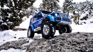 Winter Wonderland | Traxxas Mercedes-Benz G 500 4x4²