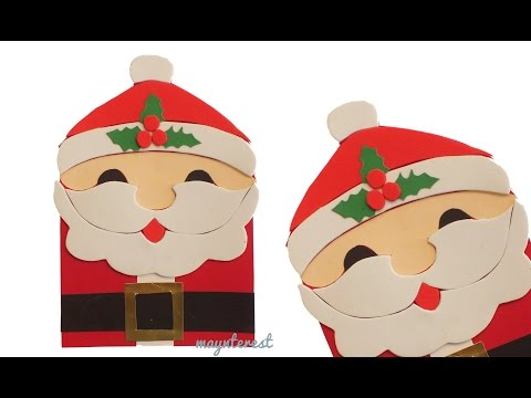 Manualidades navidad tarjeta de felicitaci n navide a de - Manualidades postales navidad ...