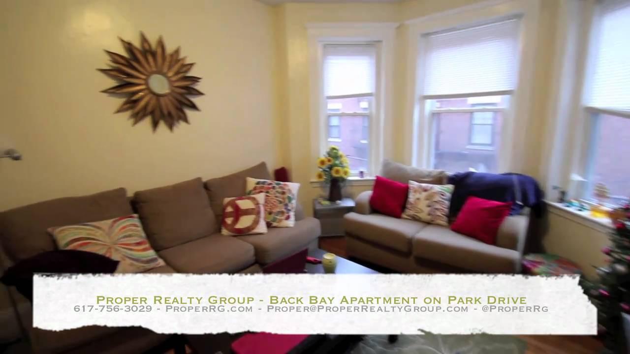 Boston Apartments - Back Bay Three Bed Split on Park Drive ...