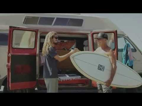 Reef Redemption - Making Use of Everything: Rob Machado's Eco Surfboard