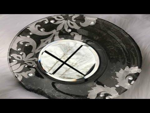 DIY DOLLAR TREE MIRRORED PLATE | MOD PODGE | CHEAP GIFT IDEA