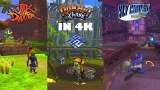 Native Playstation 2 vs 4k Emulation (Ratchet Clank, Jak and Daxter, Sly)