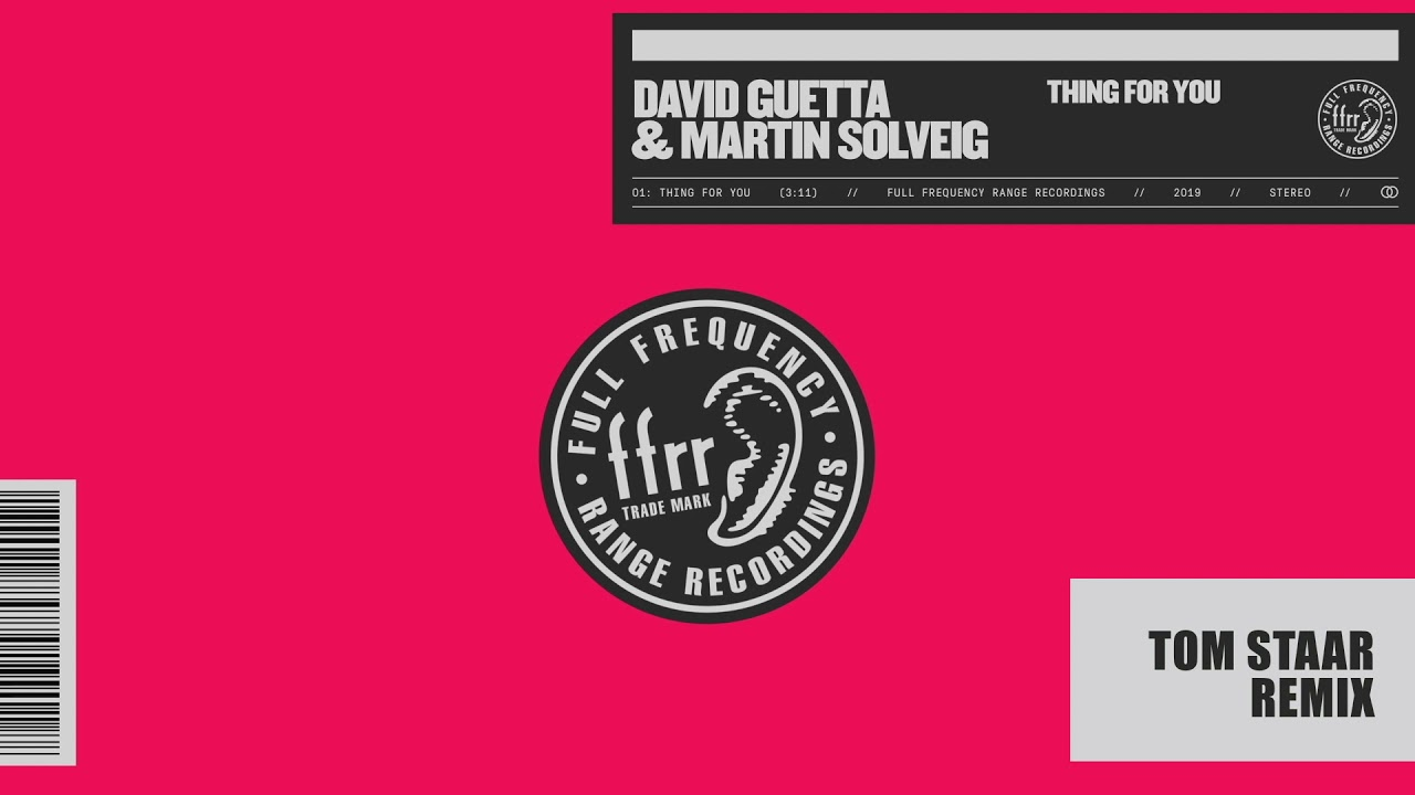 David Guetta & Martin Solveig — Thing For You (Tom Staar remix)