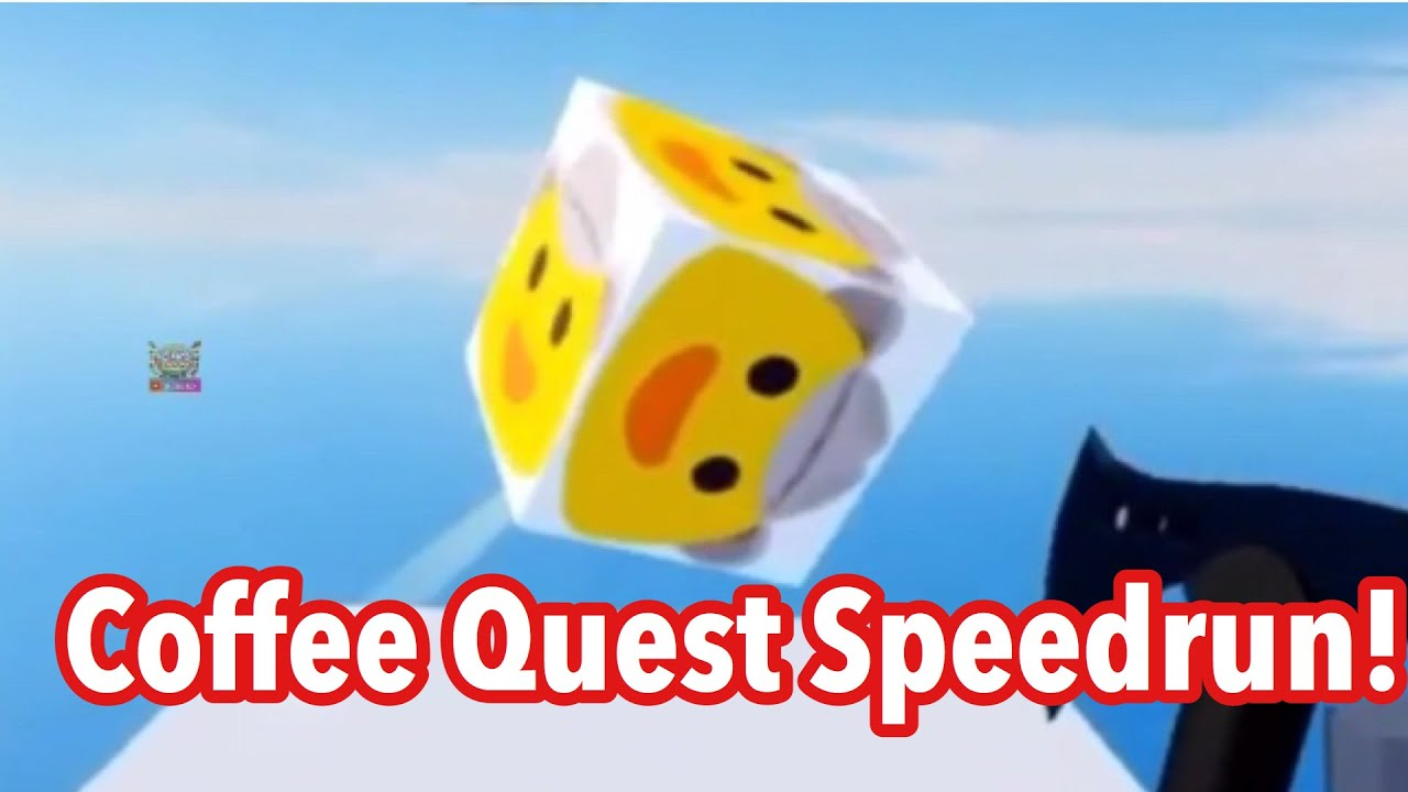Coffee Quest SPEEDRUN Arsenal ROBLOX YouTube