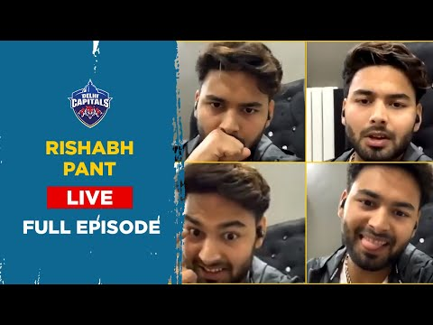 Rishabh Pant | #InstagramLIVE | FULL VIDEO | Delhi Capitals