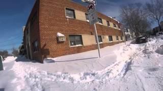 Winter Storm Jonas Historic Blizzard New York City/Jersey City (1/23/16)