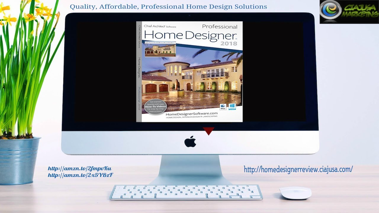 Home Designer 2018 | Chief Architect | Home Design - YouTube