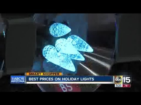 The best places to buy Christmas lights - YouTube