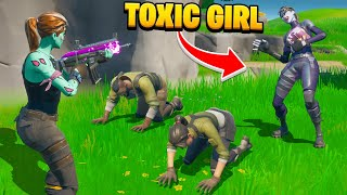 The MOST TOXIC GIRL to ever play Fortnite