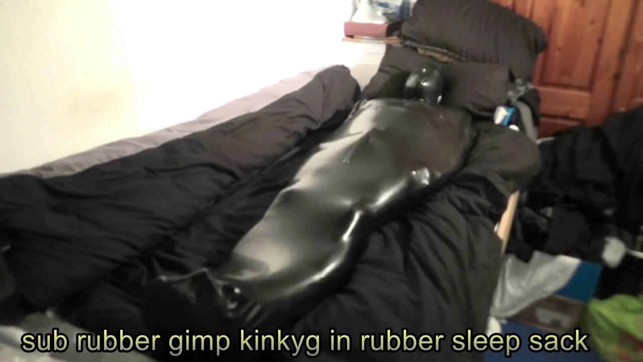 Gimp bondage sack