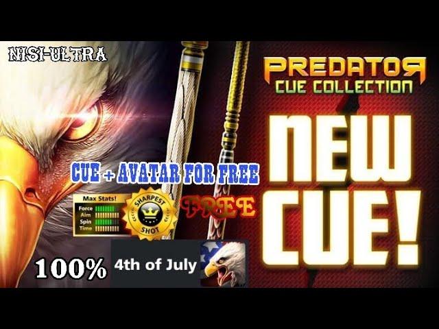 Predator Cue +  Avatar 100% FREE - How to get free / 8 ball pool *8BP*
