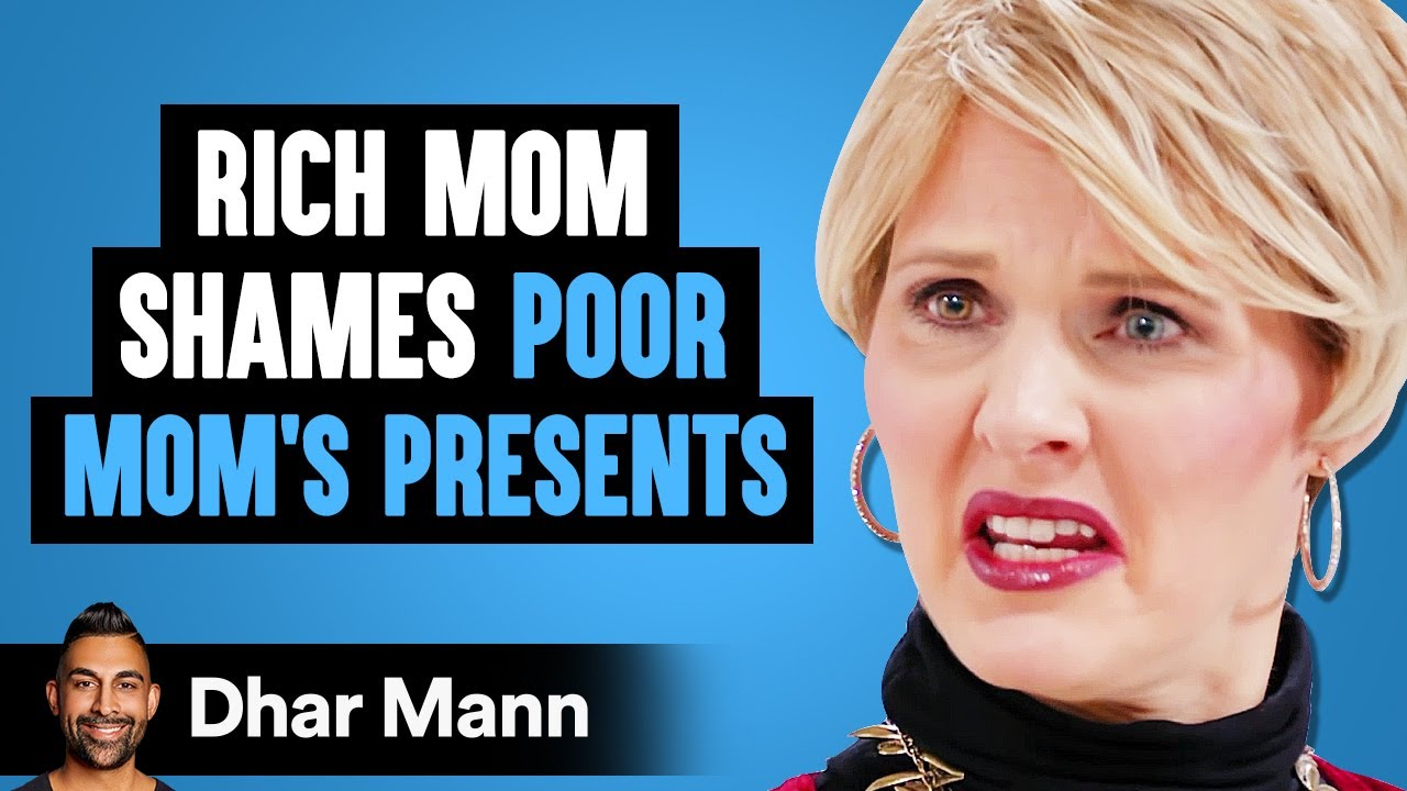 Rich Mom Shames A Poor Mom For Cheap Presents, Instantly Regrets It | Dhar Mann