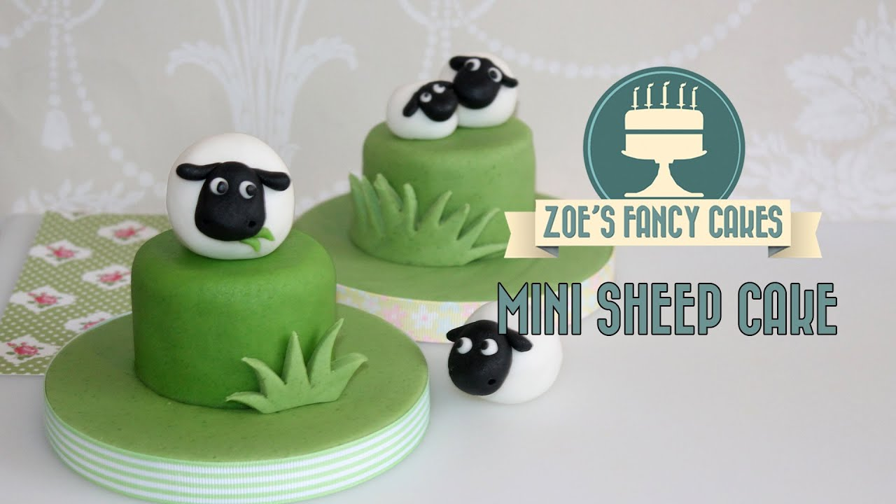how to make mini fondant cakes