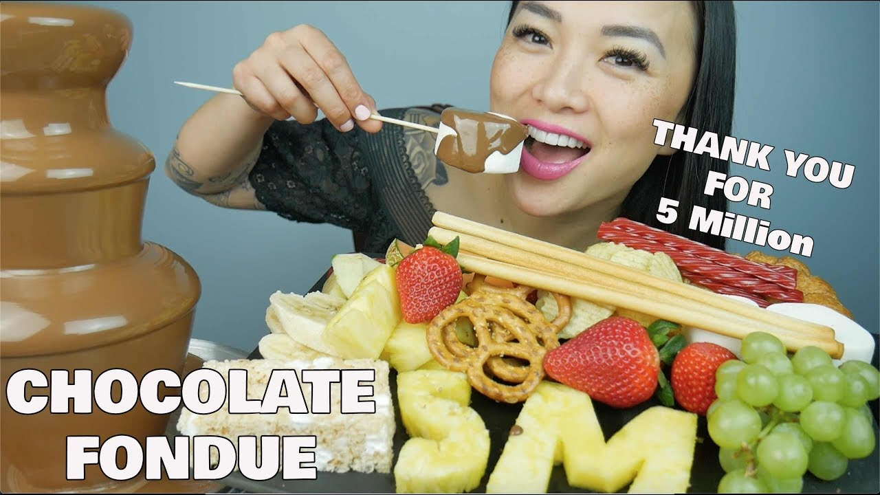 Chocolate Fondue Thank You For 5 Million Sas Asmr Youtube See more ideas about asmr, eat, sas. chocolate fondue thank you for 5 million sas asmr