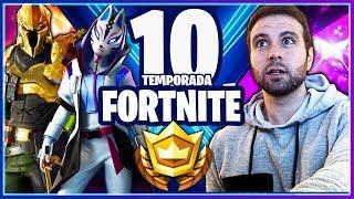 NUEVA *TEMPORADA 10* de FORTNITE DE 0 A NIVEL 100!!! ¿PRIMERA VICTORIAS?