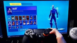 here's how I unlocked the new SKIN GALASSIA on fortnite...