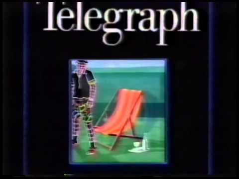 Daily Telegraph advert