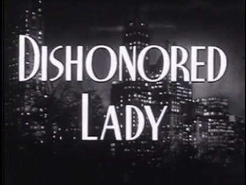 Dishonored Lady 1947 Drama Crime
